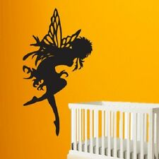 Wall Decal Sticker Removable Vinyl butterfly fairy 1