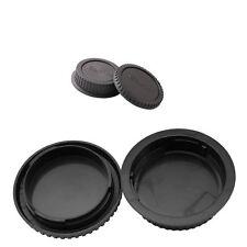 Rear Lens cap + Camera body cap for CANON EOS 450D 550D 600D 700D 60D EF EF-S