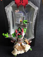 World of Warcraft Orc Warchief Thrall Figure new in box vrgadc SAFC