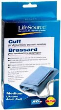 LifeSource Digital Blood Pressure Cuff Adult Medium UA-280 1 Each (Pack of 4)