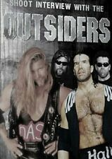 Outsiders Scott Hall & Kevin Nash Shoot Interview Wrestling DVD, WWF WCW NWO WWE