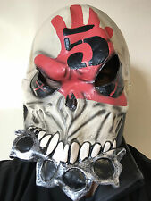 FIVE FINGER DEATH PUNCH LATEX MASK OVERHEAD FIST WAR FANCY COSTUME METAL MASKS