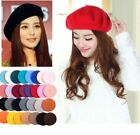 New Woman Sweet Warm Winter Wool Beret French Artist Beanie Hat Ski Cap Hat