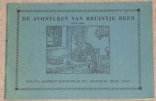 1960s/70s DE AVONTUREN VAN BRUINTJE BEER DUTCH RUPERT BEAR PAPERBACK ZESDE 6