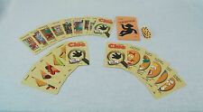 2002 The SIMPSONS CLUE Game Replacement - Complete CARDS/DICE/CASE FILE ENVELOPE