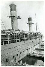 rp3780 - White Star Liner - Oceanic fitting out Belfast - photo 6x4