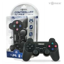 Tomee Wired USB Controller for PC and PlayStation 3 PS3 (BLACK) - New Packaged