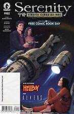 Serenity Featuring Hellboy & Aliens NM FCBD Joss Whedon Free Comic Book Day New