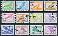 Benin 2000 Birds Cto Used Set #D2415