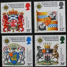 300th anniversary of Revival of Order of the Thistle stamps, SG ref: 1363-1366