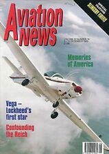Aviation News Magazine - Dec 1993 - Slingsby Fireflies, Lockheed Vega