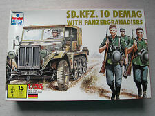 Esci 5027 Sd.Kfz.10 DEMAG with Panzergrenadier 1:35 nur 1 Figur  Kombiversand