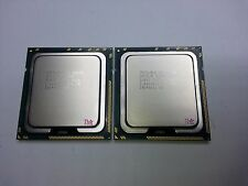 Matched pair of Intel Xeon X5650 2.66 GHz Six Core SLBV3 Processor w/Grease