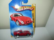 Ferrari 250 GTO red Hot Wheels 2009 New Models