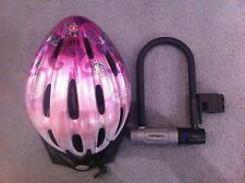 Bike equipment : helmet and locker