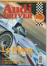 AUDI DRIVER JULY 2003 - MOTOR SPORT SPECIAL ISSUE / LE MANS / A8 3.7 SPORT TEST