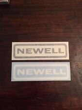 Newell Fishing Reels Decal/Sticker (1 Decal)