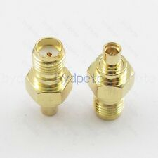Female MMCX to SMA female jack Straight RF Connector and Converter & Adapter