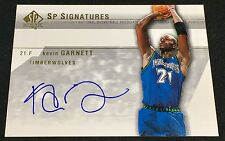 KEVIN GARNETT 03-04 UD SP Authentic SIGNATURES AUTO AUTOGRAPH SP ! /21 ?? RARE !
