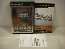 PlayStation2 -Pachisuro Hisshoho Aladdin A Limited Edition- PS2 JAPAN GAME 37355