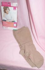 Mediven Comfort Knee High Compression Stockings 46204 Natural Size 4 Closed Toe