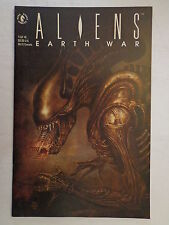 Aliens Earth War Bolton Verheiden Kieth Schutz #1 Dark Horse Comics June 1990 NM