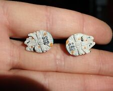 Star Wars Millennium Falcon Cuff Links - Handmade - Wedding Groom Gift cufflinks