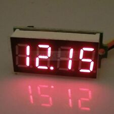 DC 0-33V Rot LED 4 Digit Digital Voltmeter Panel Meter