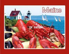 Maine - LOBSTER - Travel Souvenir Fridge MAGNET