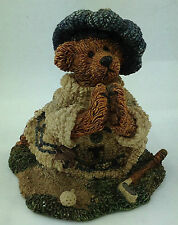 1993 boyds bear figurine praying golfer numbered boyds bears and friends 1993