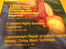 VHS Tape LAPAROSCOPICALLY ASSISTED TOTAL COLECTOMY General Surgery 1992 [Y121b1]