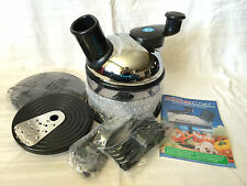 Culinare Rocket Chef Food Processor And Accessories New!