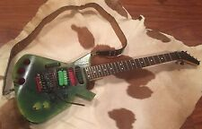 1990'S CHARVEL ELECTRIC GUITAR ONCE OWNED BY VIC DICARA OF 108 AND INSIDE OUT