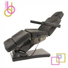 NEW! BLACK OPTIMA-Electric Medical Treatment Table- 3 Motor Spa Facial Bed Chair