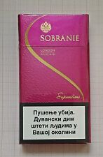 SOBRANIE RED SUPERSLIMS FOR COLLECTIONS