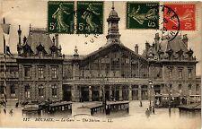 CPA ROUBAIX .- La gare .- The station  (193752)
