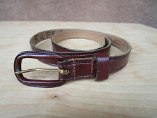 Hickok Sierra Saddle Leather Belt Hand Rubbed Cordovan Size 32 P4909