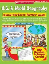 Know-the-Facts Review Game: 100 Must-Know Facts in a Q&A Game Format to Help Kid
