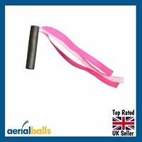 Pink Aerial Ribbons Car Aerial Ball Antenna Topper