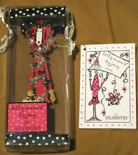 SILVESTRI Dolly Mama's by Joey Inc. Mod Best Stressed Lady Christmas Ornament