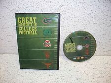 Great Moments In College Football DVD Out of Print Notre Dame Ohio State Gators
