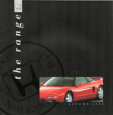 Honda 1990-91 UK Brochure Civic Shuttle CRX Concerto Accord Prelude Legend NSX