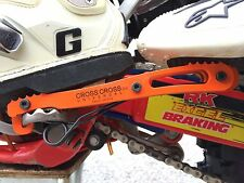 CrossCross Universal Passenger Foot pegs rests Fits HUSABERG FE FS and more ...