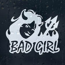 Bad Girl Devil Car Decal Vinyl Sticker For Bumper Window Panel