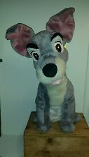"Disney Store Exclusive 16"" Tramp Plush Lady And the Tramp"