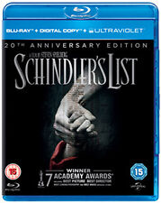 SCHINDLERS LIST - BLU-RAY - REGION B UK