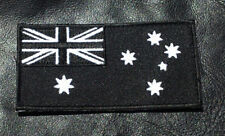 AUSTRALIAN FLAG EMBROIDERED MILITARY 3.5 INCH TACTICAL AU HOOK LOOP PATCH