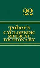 TABER'S CYCLOPEDIC MEDICAL DICTIONARY - NEW HARDCOVER BOOK