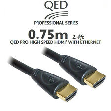 QED HDMI cable 0.75m Professional series