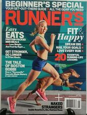Runner's World May 2016 Fit & Happy Beginners Special Easy Eats FREE SHIPPING sb
